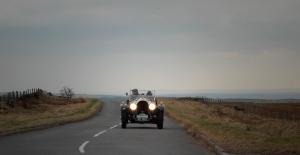 Bentley 3/4.5 on the moors north of Leek